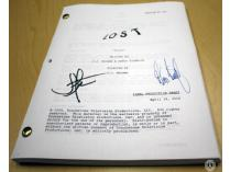 "Authentic Autographed LOST Script: ""Pilot"" (signed by J.J. Abrams & Damon Lindelof)"