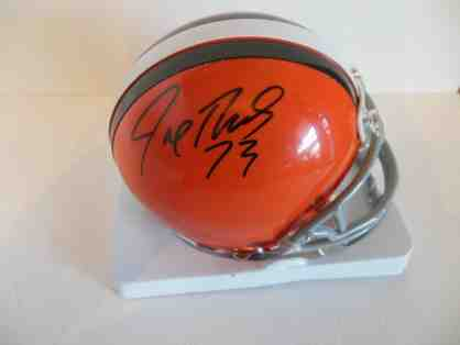 Joe Thomas Autographed Cleveland Browns Mini Helmet