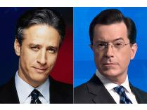 Your Choice - Tickets to Jon Stewart of Stephen Colbert