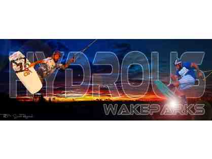 Hydrous Wake Parks - One Week Half Day Camp