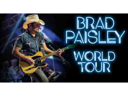 Brad Paisley Concert Tickets (Terrace Level) Daily's Place, Jax, FL