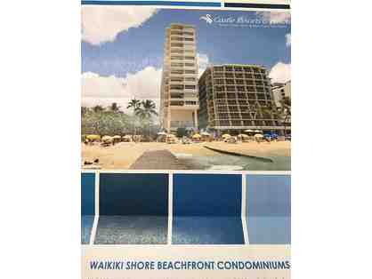 2-nights stay-Castle Resorts & Hotel Waikiki Shore 1-bdrm Condo (Oahu, HI)Exp. 10/31/17