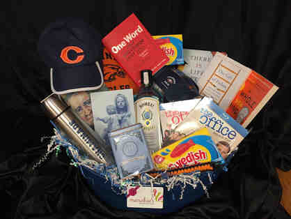 Chaminade President Rob Webb and His Favorite Things Basket including Dinner!