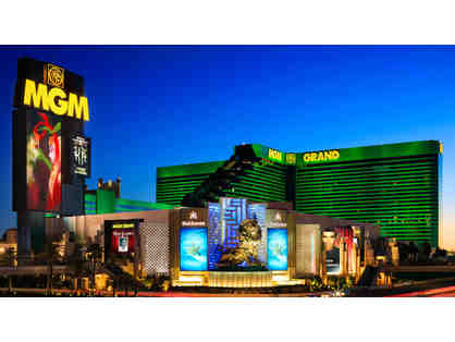 MGM Resorts International: Golf Vacation Package for Two at the MGM Grand