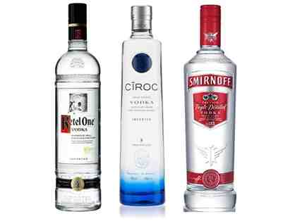 Ketel One, Ciroc and Smirnoff Vodkas plus An Exclusive Martini Happy Hour at Diageo