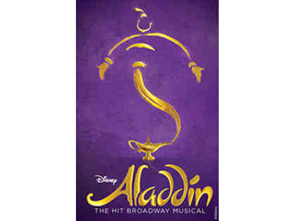 Tickets to Aladdin on Broadway!