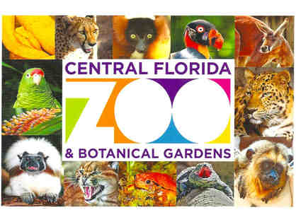 Central Florida Zoo - Admission for 4