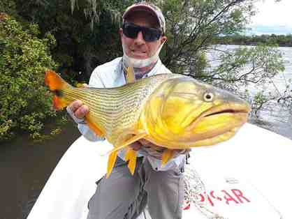 Unique and Exclusive 2 Angler /3 night /3 days, Paysandu, Uruguay Dorado fishing trip.