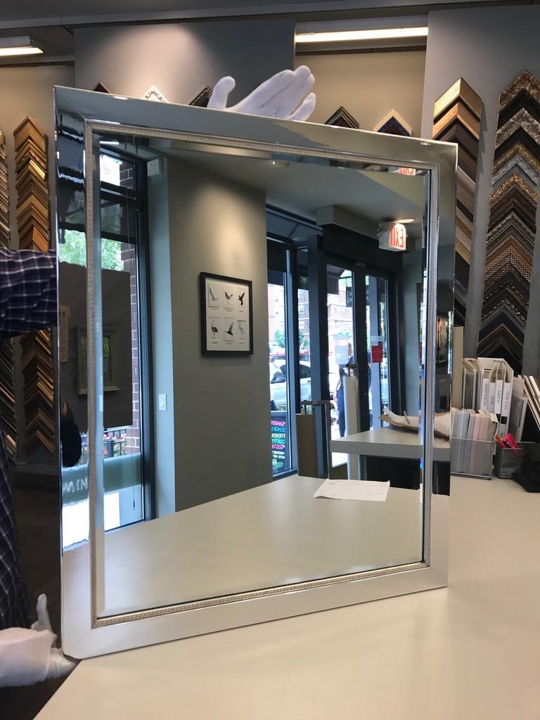 Custom Framed Mirror by Chelsea Frames | BiddingForGood