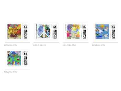 CITYarts Pieces for Peace Stamps