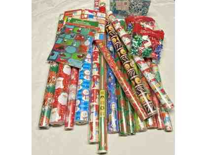 Christmas Wrapping Paper Lot