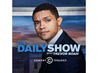 Two VIP Tickets to a taping of The Daily Show with Trevor Noah