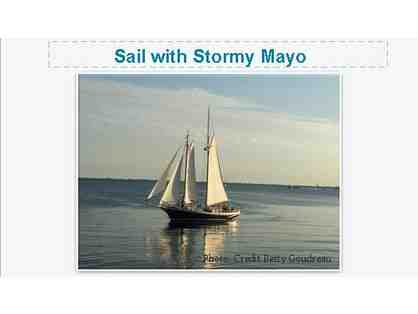 Sail Aboard the Schooner Istar with Captain Stormy Mayo