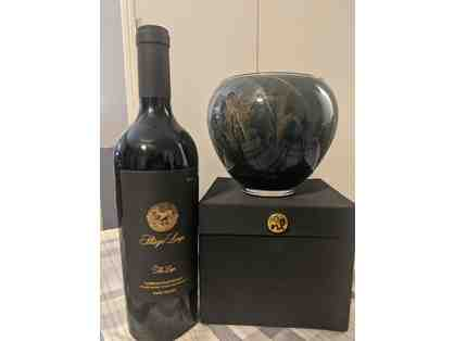 Stags Leap The Leap Cabernet Sauvignon 2016 and Northern Lights Esque Candle Vase