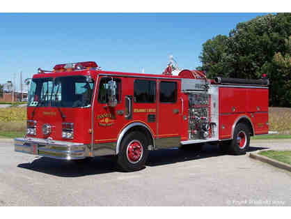 LIVE AUCTION: Ride to School in a Fire Engine!