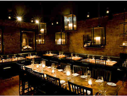 A 6-Course Tasting Dinner Menu for Two with Wine Pairings at Marc Forgione NYC