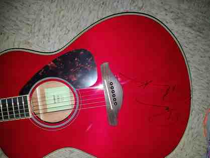 Guitar Autographed by Darius Rucker