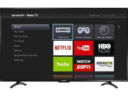 "Sharp - Roku 55"" LED Smart HDTV"