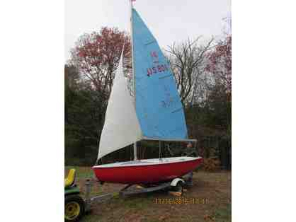 Classic TEAL 15' Sailboat