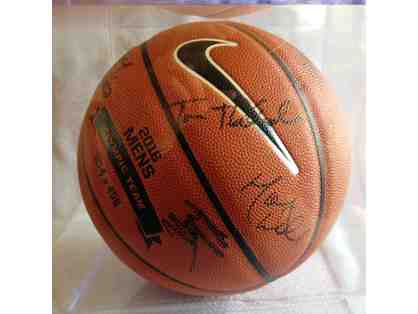 2016 Olympic Basketball, autographed by all 12 Team USA members and coaching staff