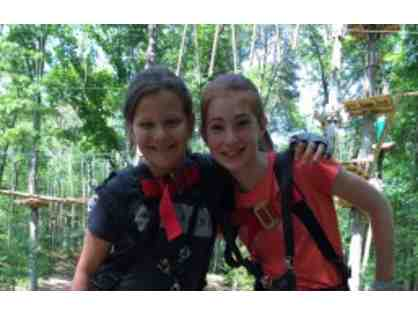 Two general admission tickets to TreeTop Adventures zipline park in Canton