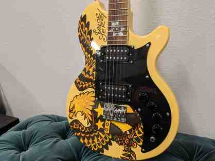 Limited Edition Sailor Jerry Guitar