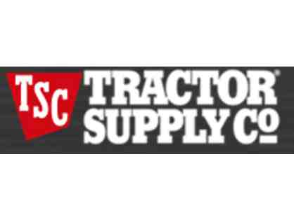 $100 Gift Certificate for Tractor Supply Co.