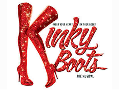 2 Tickets to Kinky Boots in NYC & Private Back Stage Tour