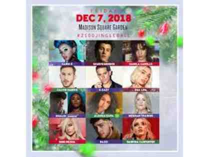 2 Tickets to the SOLD OUT Jingle Ball at the Garden