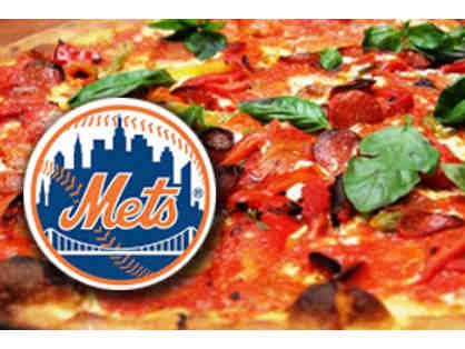 Four Field Level Box Tickets to Mets Game of Choice and Angelo's Pizza