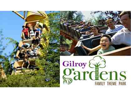 2 Admission Tickets to Gilroy Gardens