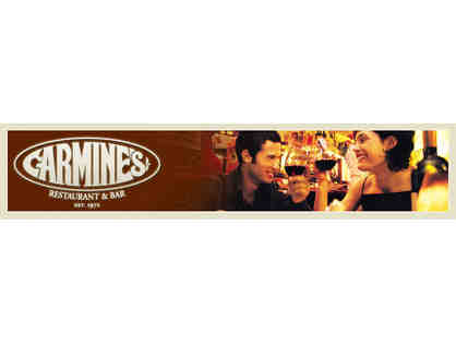 Carmine's II - $125 Gift Certificate Dinner for Two
