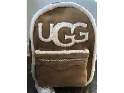 "UGG Large ""Dannie"" Sheepskin Backpack"
