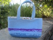 Handmade Felted Wool Bag