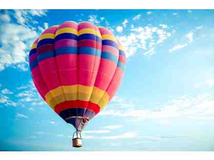 Two Hot Air Balloon Rides!