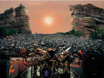 4 VIP Tickets to any Summer 2016 AEG Live Red Rocks Show, Backstage Tour, Dinner Backstage