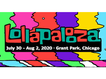 Pair of 4-Day General Admission tickets to Lollapalooza