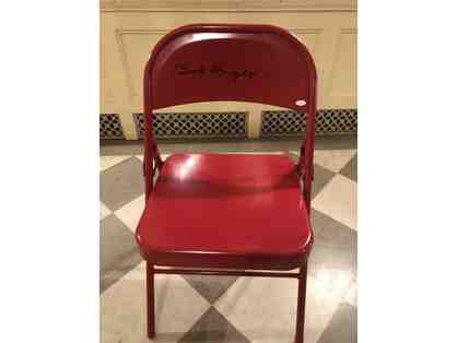 Autographed Bobby Knight Chair!