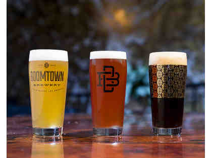 Boomtown Brewery: Tour and Tasting for Six PLUS Golden Glass Membership