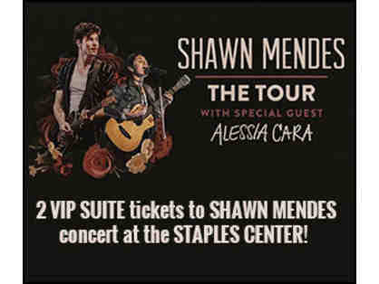 Shawn Mendes: Staples Center July 6 Two Tickets VIP Suite