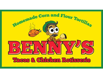Benny's Tacos and Chicken Rotisserie: $15 Gift Certificate (1 of 6)