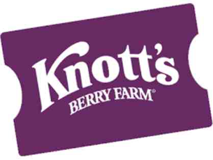 4 Knotts Berry Farm Tickets