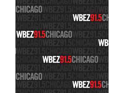 WBEZ Chicago Public Radio - Studio Interview and Station Tour