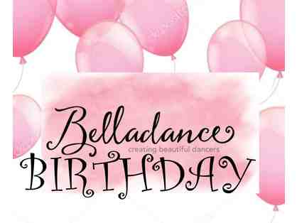 Belladance Birthday Party package for 15