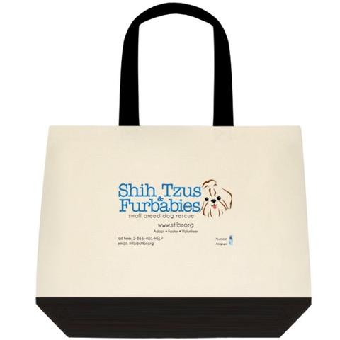 Shih Tzu Furbaby Logo tote | BiddingForGood