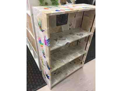 Bid on this Beautiful Bookcase created by 3rd grade