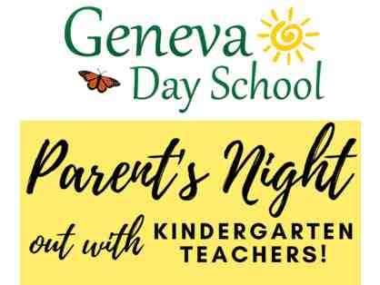 Parents' Night Out with the Kindergarten Teachers