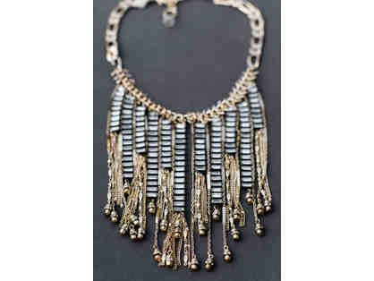 Art Deco Inspired Bib Necklace