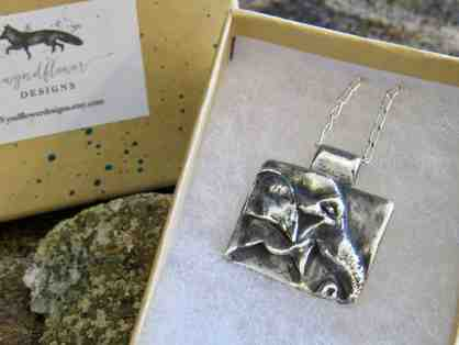 Guida Silver Pendant Necklace commissioned by GSE - one of a kind!