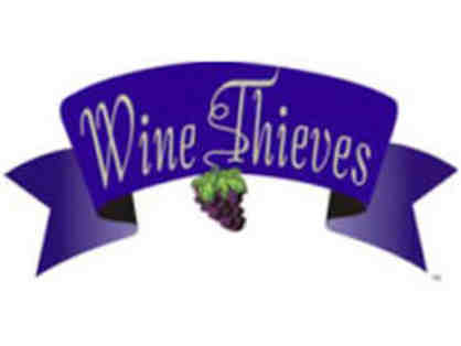 Wine Thieves, Lafayette: Tasting for eight.